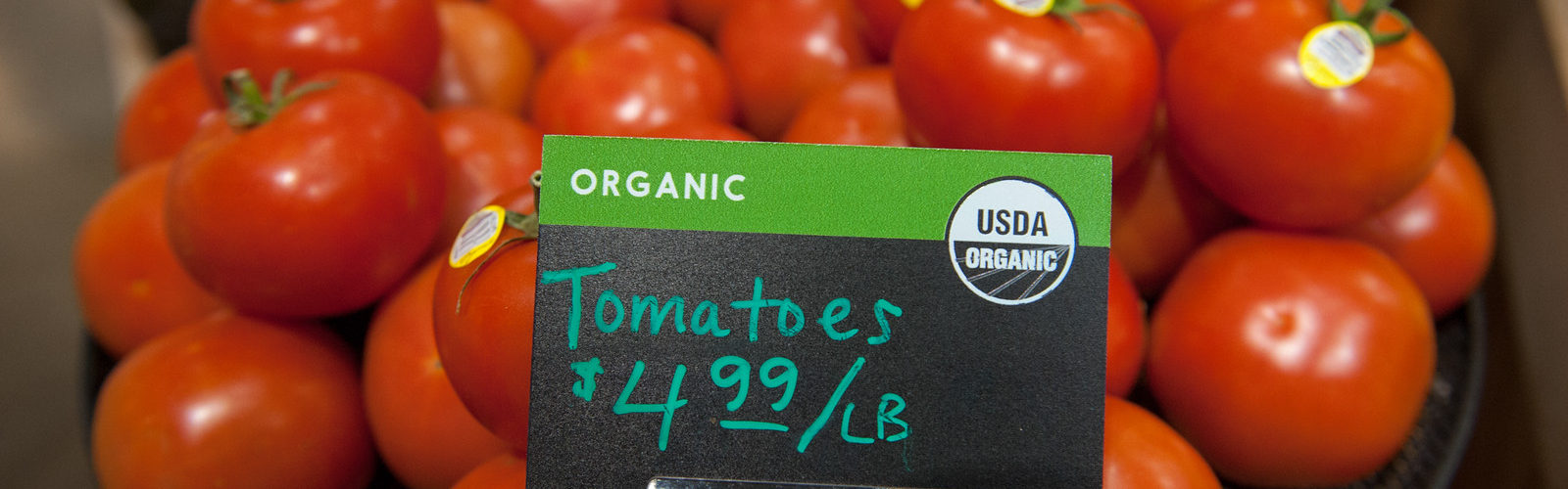 Co-op Partners Wharehouse - organic tomatoes