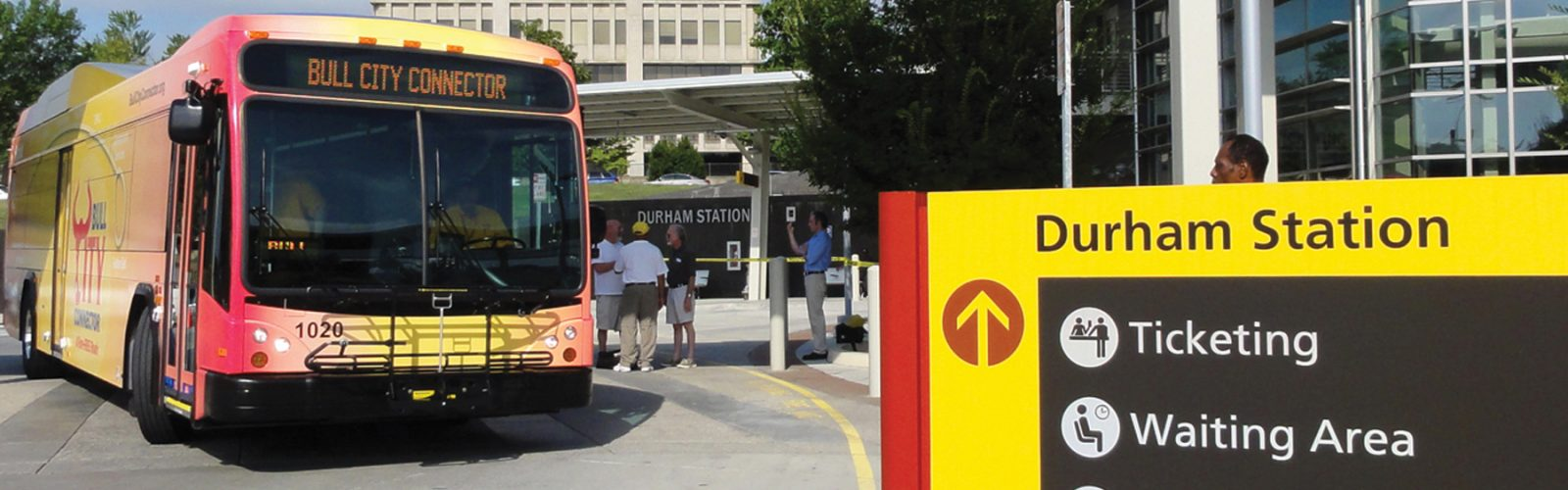 picture of Bull City Connector bus